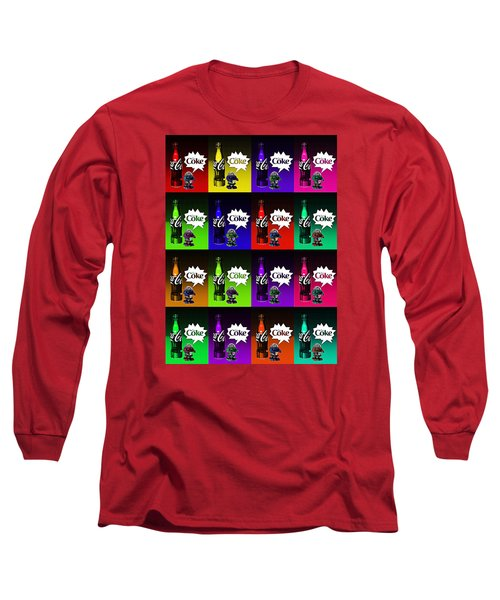 Long Sleeve T-Shirt featuring the photograph Coca-cola Forever Young 13 by James Sage