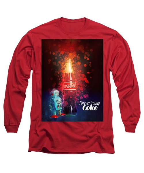 Coca-cola Forever Young 15 Long Sleeve T-Shirt