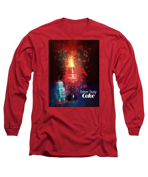 Long Sleeve T-Shirt featuring the photograph Coca-cola Forever Young 15 by James Sage