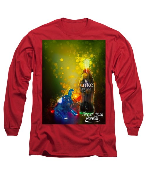 Coca-cola Forever Young 3 Long Sleeve T-Shirt