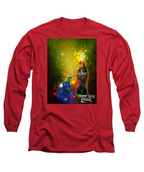 Long Sleeve T-Shirt featuring the photograph Coca-cola Forever Young 3 by James Sage