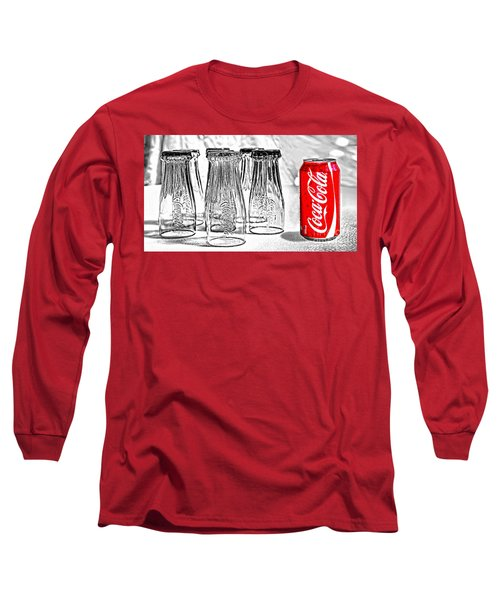 Coca-cola Ready To Drink By Kaye Menner Long Sleeve T-Shirt