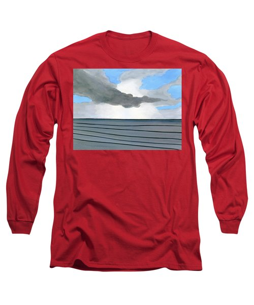 Cocoa Beach Sunrise 2016 Long Sleeve T-Shirt by Dick Sauer