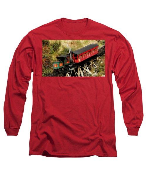 Cog Railway Vintage Long Sleeve T-Shirt