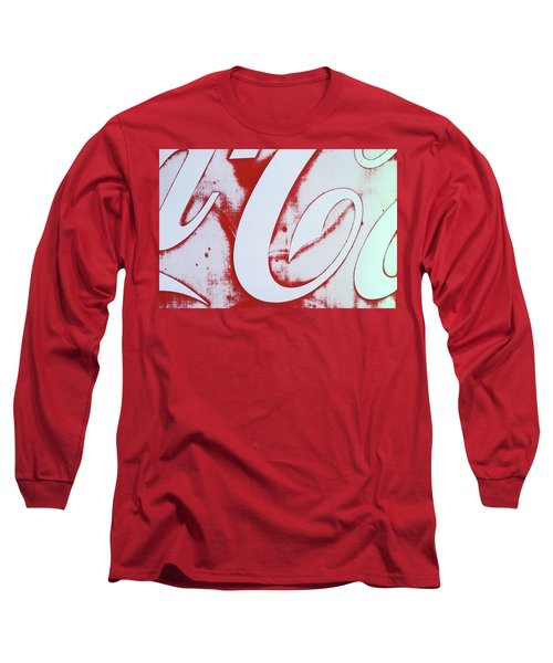 Coke 3 Long Sleeve T-Shirt by Laurie Stewart
