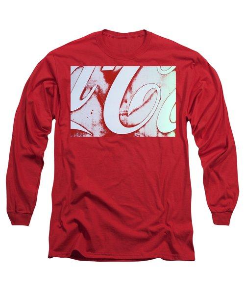 Coke 3 Long Sleeve T-Shirt by Laurie Stewart