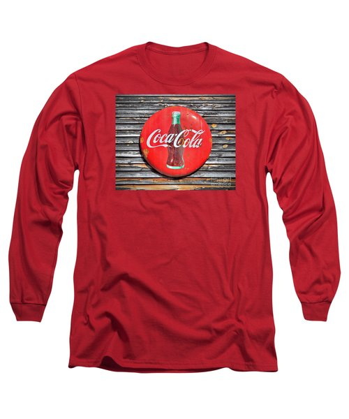 Coke Long Sleeve T-Shirt by Marion Johnson