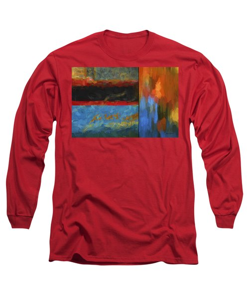Color Abstraction Li  Long Sleeve T-Shirt