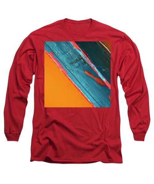 Color Abstraction Lxii Sq Long Sleeve T-Shirt by David Gordon
