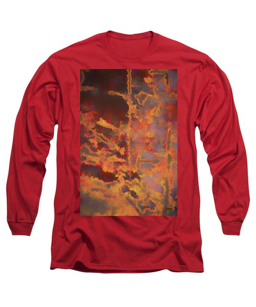Color Abstraction Lxxi Long Sleeve T-Shirt by David Gordon