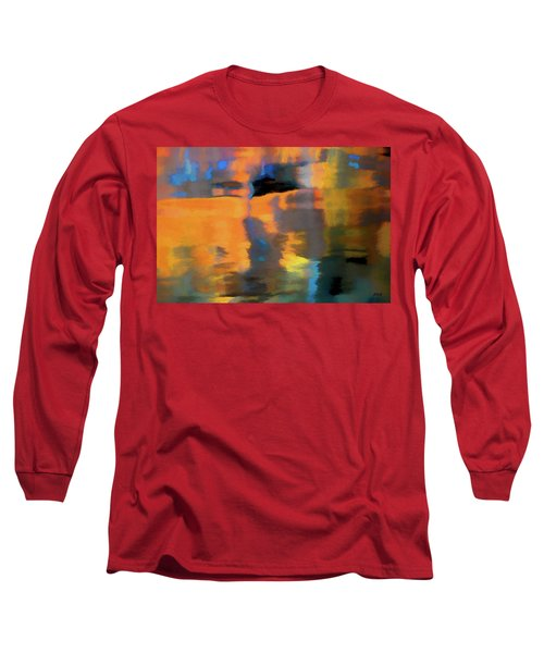 Color Abstraction Lxxii Long Sleeve T-Shirt by David Gordon