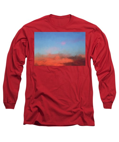 Color Abstraction Xlvii - Sunset Long Sleeve T-Shirt
