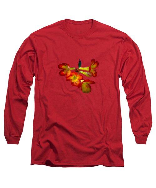 Color Burst Long Sleeve T-Shirt
