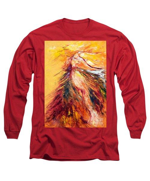 Color Dance Long Sleeve T-Shirt