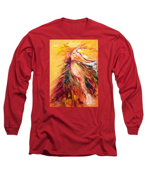 Color Dance Long Sleeve T-Shirt