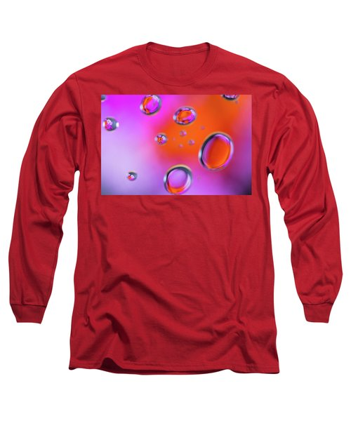 Long Sleeve T-Shirt featuring the photograph Color Drops by Brian Hale