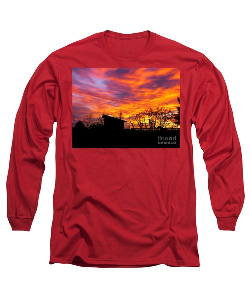 Color In The Sky Long Sleeve T-Shirt