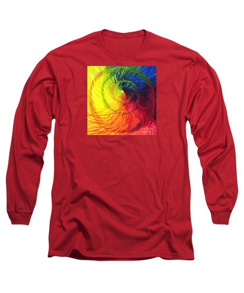 Color Long Sleeve T-Shirt by Jeanette Jarmon