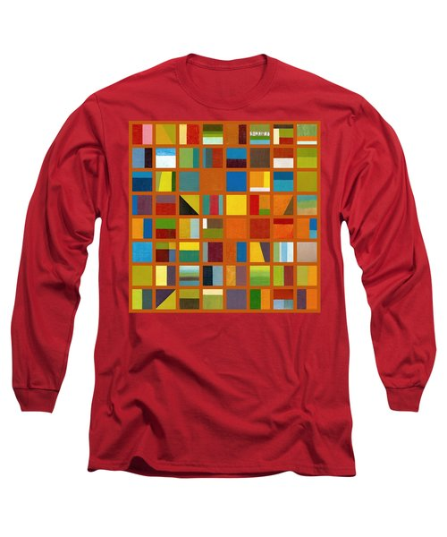 Color Study Collage 66 Long Sleeve T-Shirt