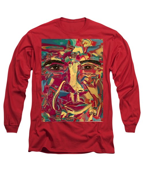 Colored Man Long Sleeve T-Shirt