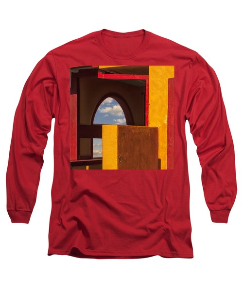 Colorful Adobe One Long Sleeve T-Shirt by Gary Warnimont