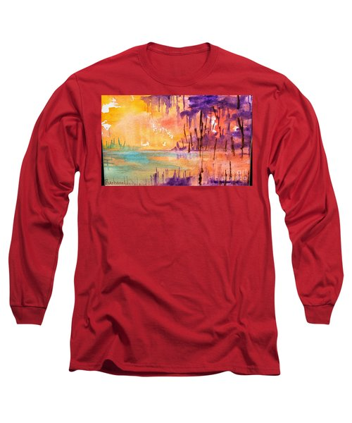 Colorful Bayou Long Sleeve T-Shirt