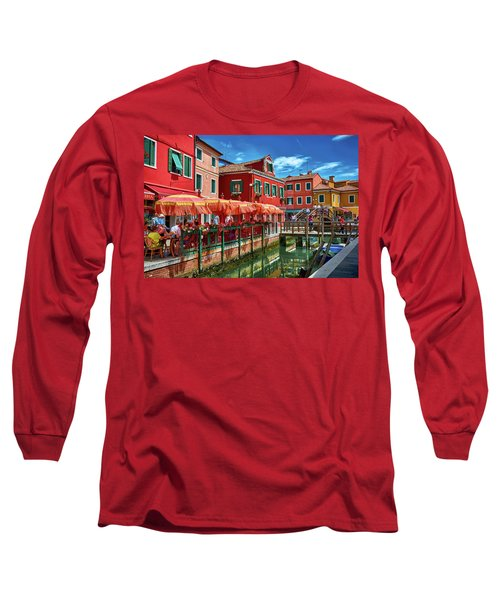Colorful Day In Burano Long Sleeve T-Shirt
