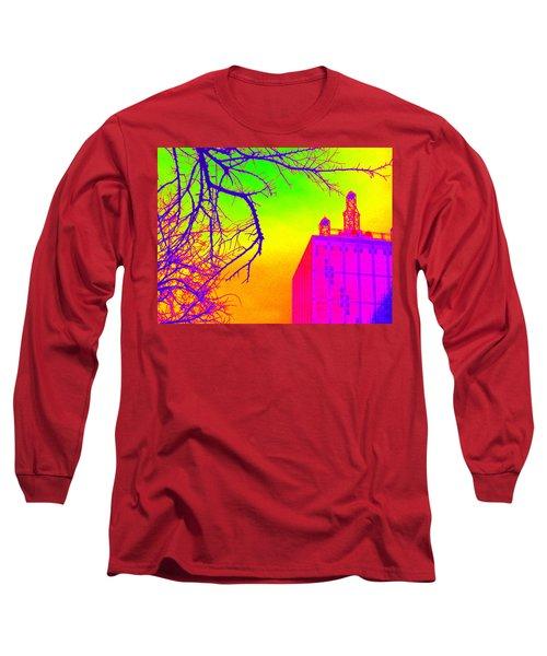 Dallas In Vivid Colors Long Sleeve T-Shirt