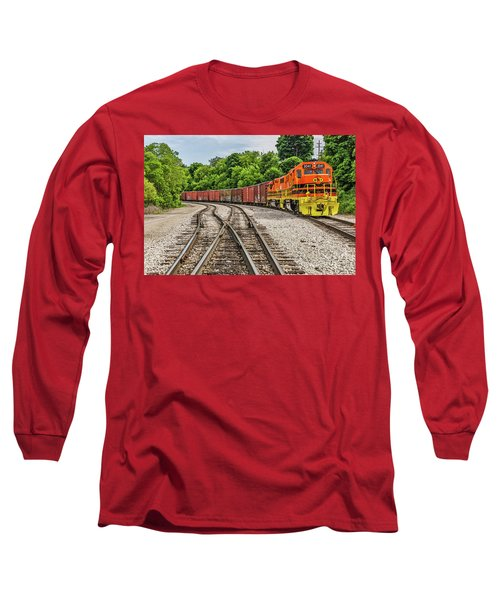 Colorful Marquette Rail Long Sleeve T-Shirt