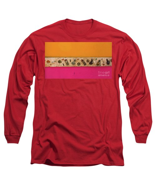 Colorful Mexico  Mexican Art By Kaylyn Franks Long Sleeve T-Shirt