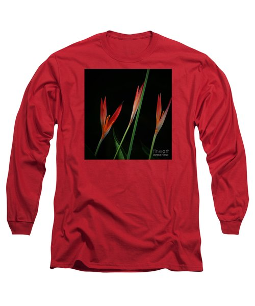Long Sleeve T-Shirt featuring the photograph Colorful Trio by Pamela Blizzard