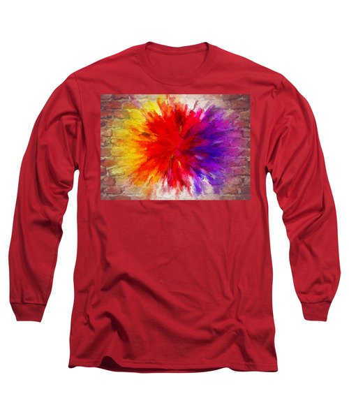 Colour To Lift Your Soul Long Sleeve T-Shirt
