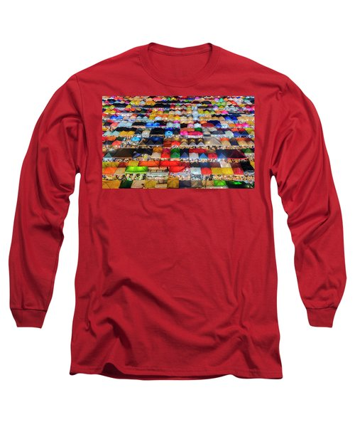 Colourful Night Market Long Sleeve T-Shirt