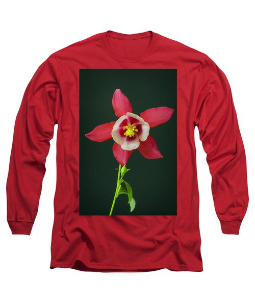 Columbine Flower 2 Long Sleeve T-Shirt
