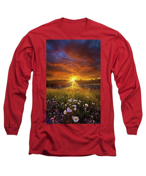 Long Sleeve T-Shirt featuring the photograph Come Again Another Day by Phil Koch