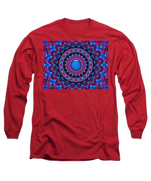 Long Sleeve T-Shirt featuring the digital art Comfort Zone by Robert Orinski