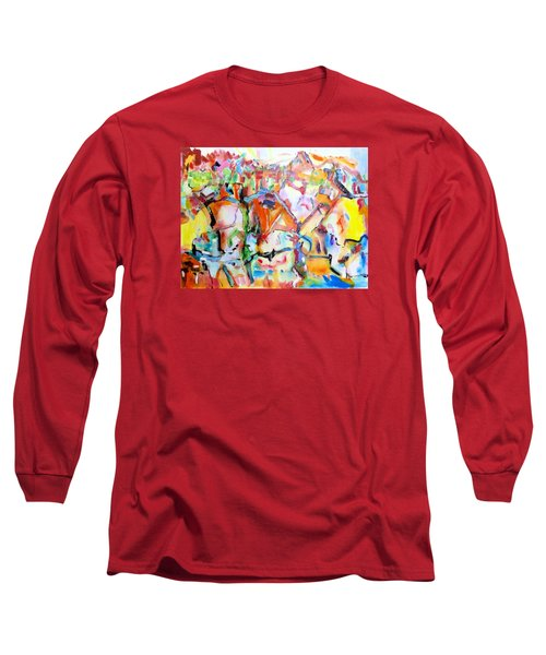 Complicated Landscape Long Sleeve T-Shirt