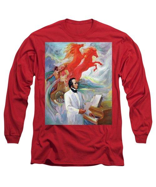 Composer Felix Mendelssohn Long Sleeve T-Shirt