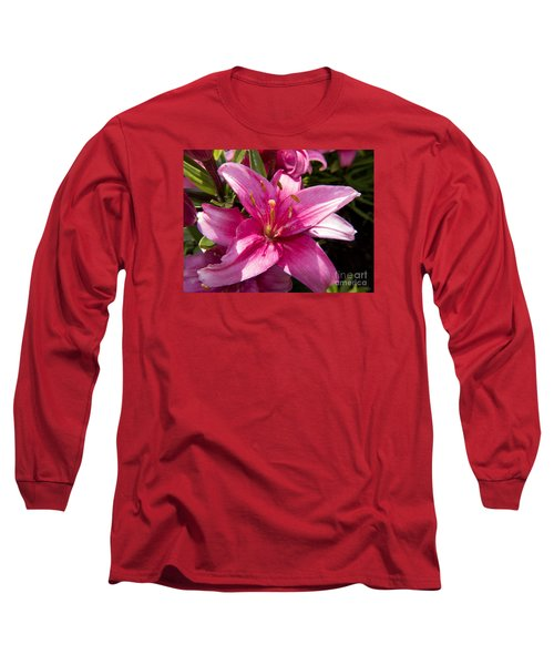 A Lily Speaks Of Love In The Language Of The Heart Long Sleeve T-Shirt