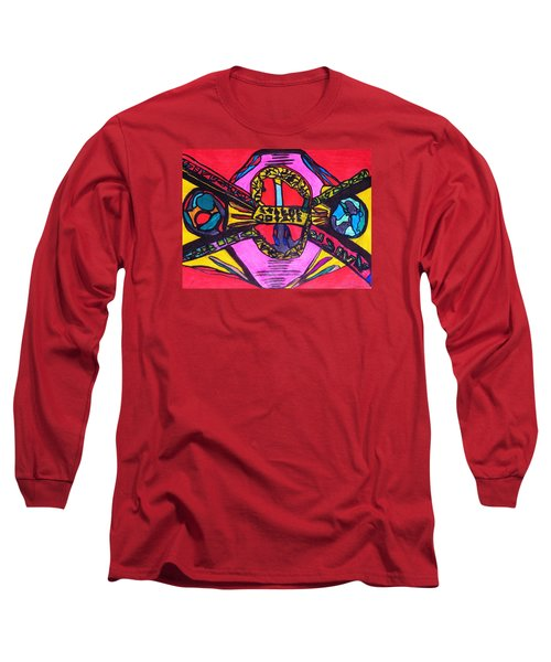 Contact Long Sleeve T-Shirt by Darrell Black