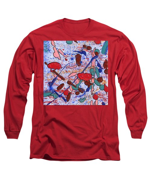 Conversation With Grace Long Sleeve T-Shirt by Phil Strang