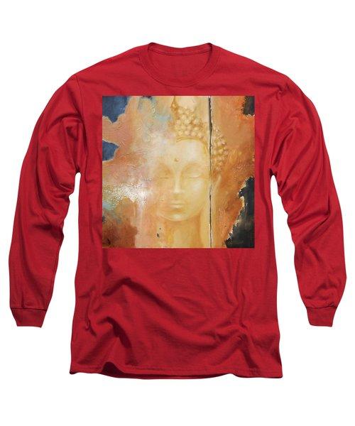 Copper Buddha Long Sleeve T-Shirt