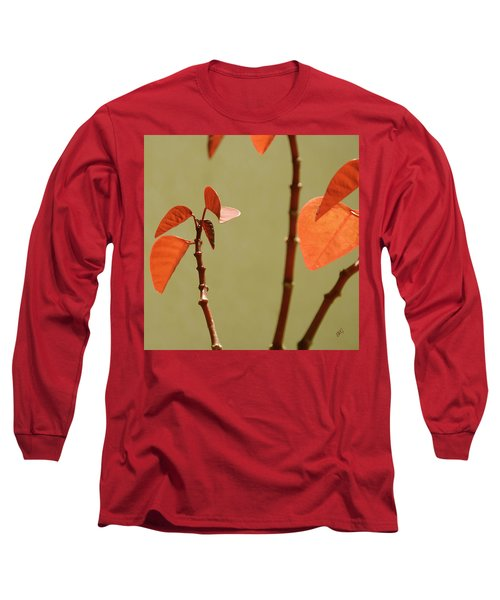 Long Sleeve T-Shirt featuring the photograph Copper Plant 2 by Ben and Raisa Gertsberg