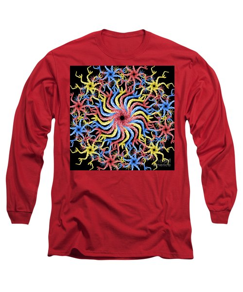 Long Sleeve T-Shirt featuring the photograph Copperhead Mandala by Brian Jones