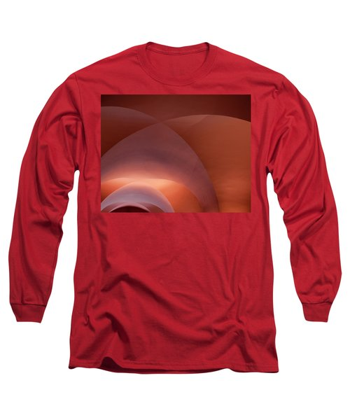 Coral Arched Ceiling Long Sleeve T-Shirt
