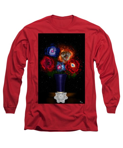 Cosmic Bouquet Long Sleeve T-Shirt