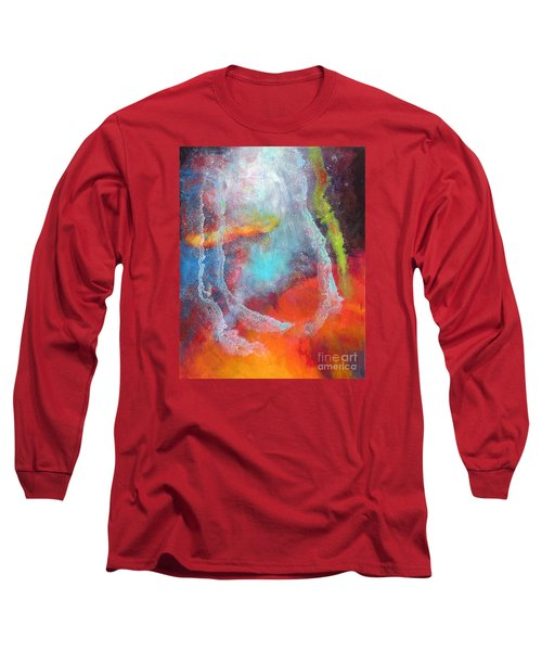 Fantasies In Space Series Painting. Cosmic Concerto Long Sleeve T-Shirt