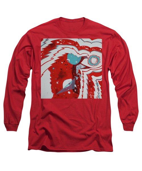 Cosmic Corvid Long Sleeve T-Shirt by Cynthia Lagoudakis
