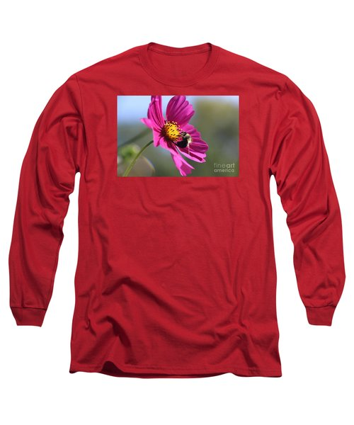 Cosmos With Bumblebee Long Sleeve T-Shirt