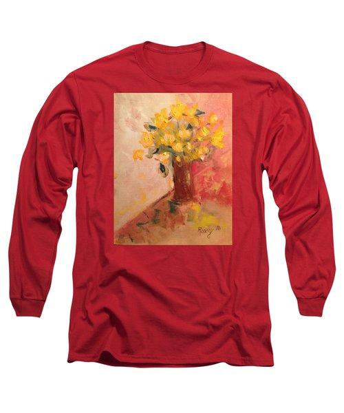 Country Flowers Long Sleeve T-Shirt